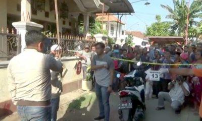 Proses olah TKP oleh tim INAFIS Polres Probolinggo kota (Pix)