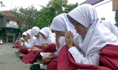 SD Sukabumi II Kota Probolinggo Gelar Aksi Damai, Doa Tolak Yerusalem Jadi Ibu Kota Israel