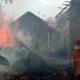 Akibat Bakar Sampah Bawang, Dua Rumah Rata Terbakar
