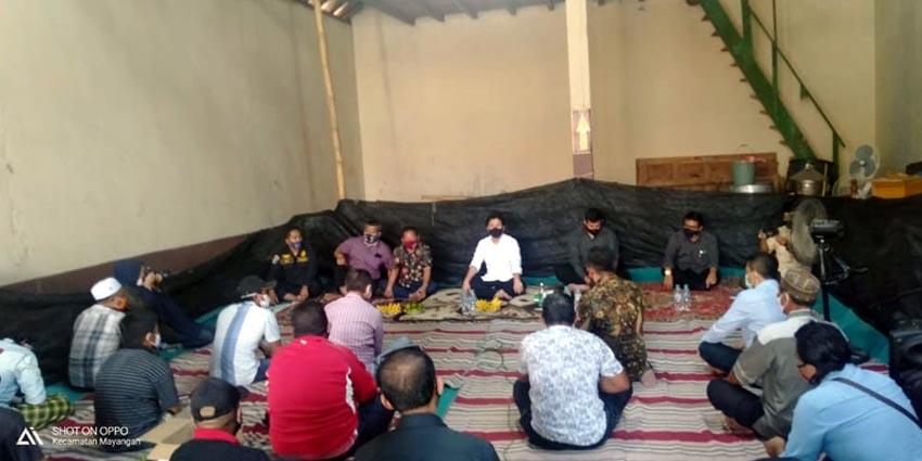 Wakil Gubernur Emil mengunjungi kelompok tani yang ada di Kelurahan Kareng Kecamatan Kademangan Kota Probolinggo