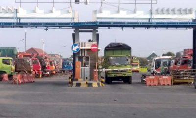 Pintu masuk terminal kargo Mayangan Kota Probolinggo