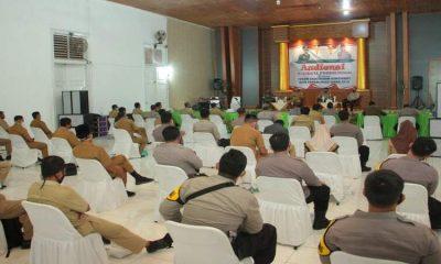 Audiensi bersama Forum Silaturahmi Kamtibmas Kota Probolinggo di aula Mapolres Probolinggo Kota, Selasa (24/11/2020).