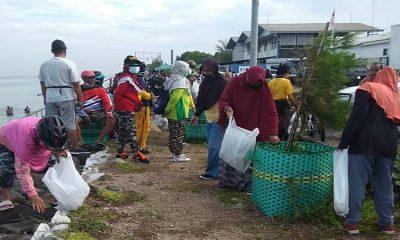 Cara Komunitas Njegur Sahabat Laut Peringati HPSN 2021, Ajak Masyarakat Bersihkan Sampah di PPP Mayangan