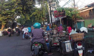 Kemacetan Jalan di Pasar Baru Probolinggo jadi Perhatian Satpol PP
