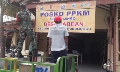 Sikapi Rakor Bupati dan Muspika, Desa Pabean Probolinggo Langsung Bentuk Posko