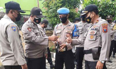 Antisipasi Penyalahgunaan Senpi, Seluruh Senjata Anggota Polres Diperiksa