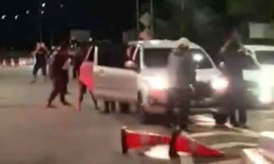 Blokade Exit Tol, Tiga Kawanan Pelaku Perampokan Antar Wilayah Pasuruan dan Malang Digelandang Polsek Leces