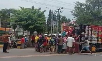 Heboh…Puluhan Orang Ambil Paksa Jenazah Pasien Covid-19 di RSU Wanolangan Dringu Probolinggo