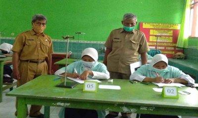 SMPN 10 Kota Probolinggo Gelar Ujian Praktik dengan Prokes yang Ketat