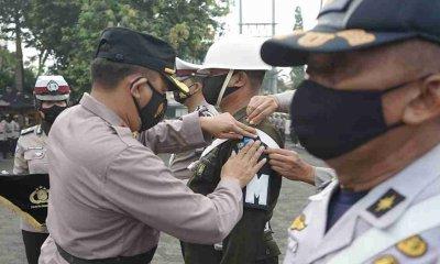 Kapolres Probolinggo Kota Pimpin Apel Gelar Ops Keselamatan Semeru 2021