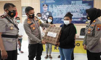 Kapolres Probolinggo Launching Program Orang Tua dan Anak Asuh bagi Pelajar Papua