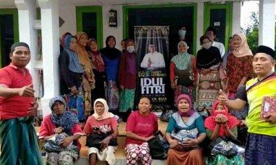 Faisol Riza Bagikan Puluhan Ribu Sembako ke Warga Pasuruan dan Probolinggo yang Tidak Mampu